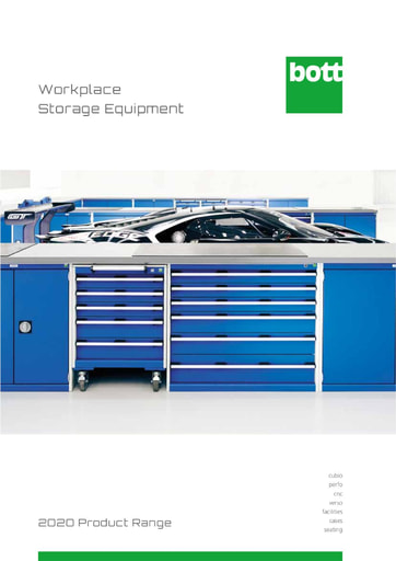 2020 Bott Workplace Storage Equipment